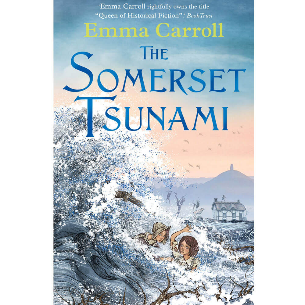 An image of The Somerset Tsunami By Emma Carroll (Paperback)