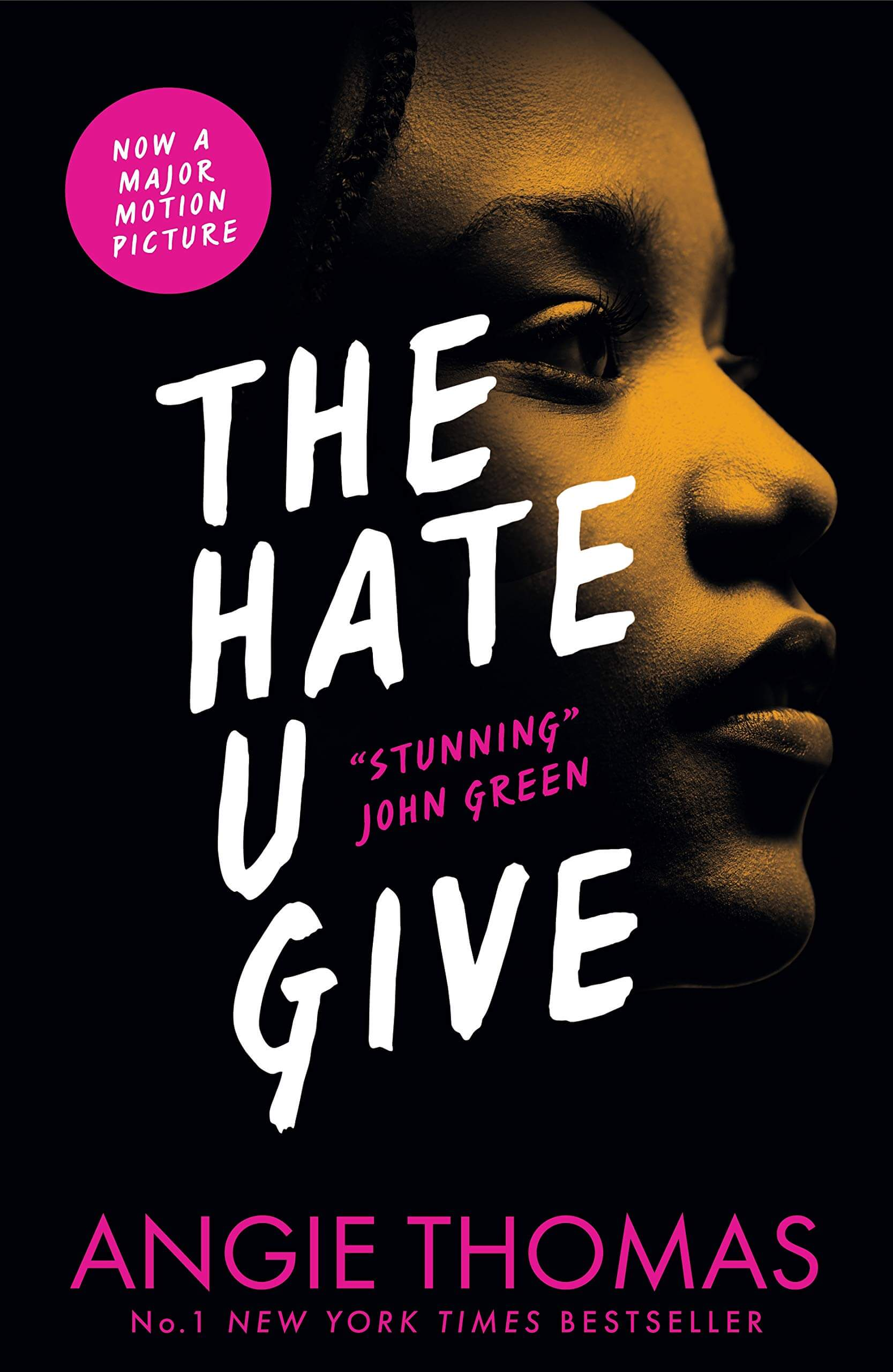 An image of The Hate U Give By Angie Thomas (Paperback)
