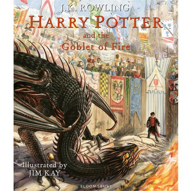 Harry Potter and the Goblet of Fire By J. K. Rowling Illustrated (Hardback) - J.K. Rowling