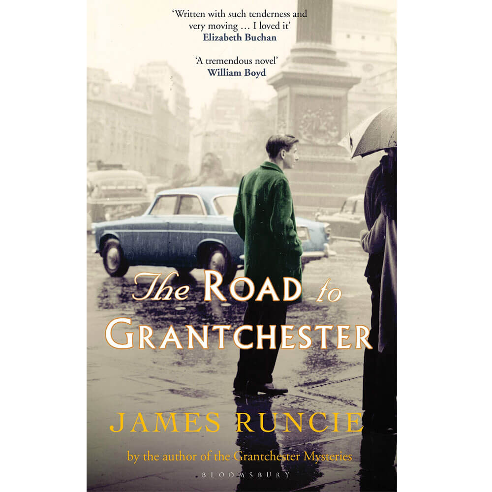 An image of The Road to Grantchester By James Runcie (Hardback)
