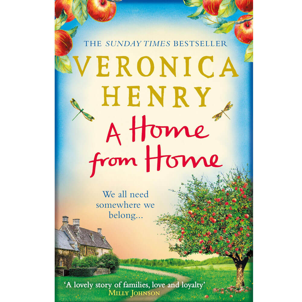 An image of A Home From Home By Veronica Henry (Paperback)