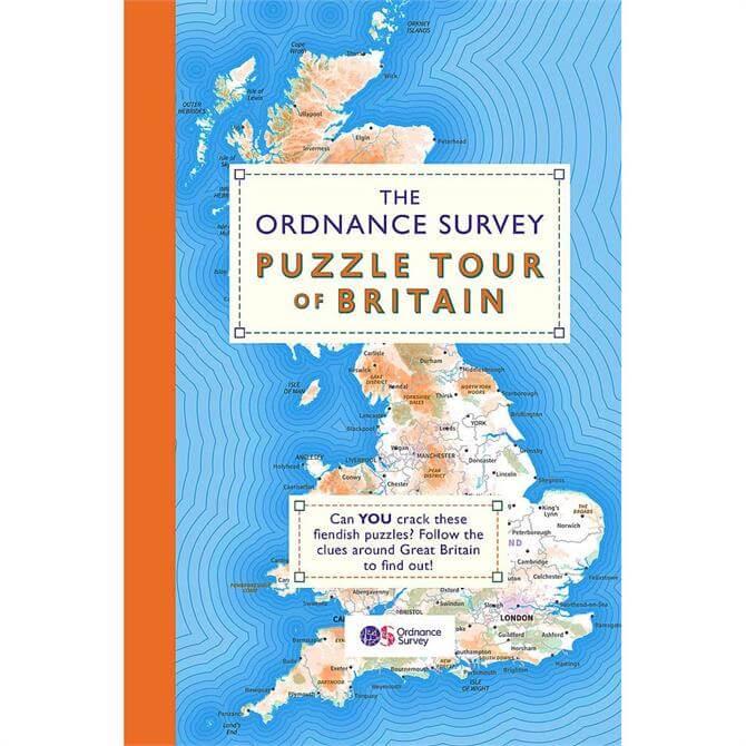 The Ordnance Survey Puzzle Tour of Britain (Paperback)