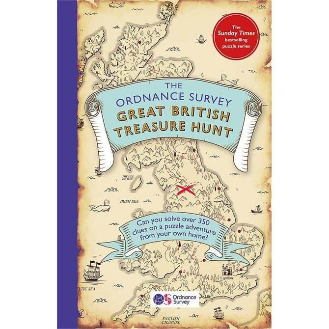 The Ordnance Survey Great British Treasure Hunt (Paperback)