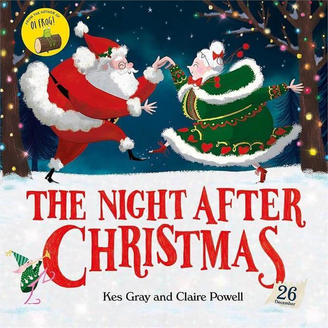 The Night After Christmas By Kes Gray (Paperback)