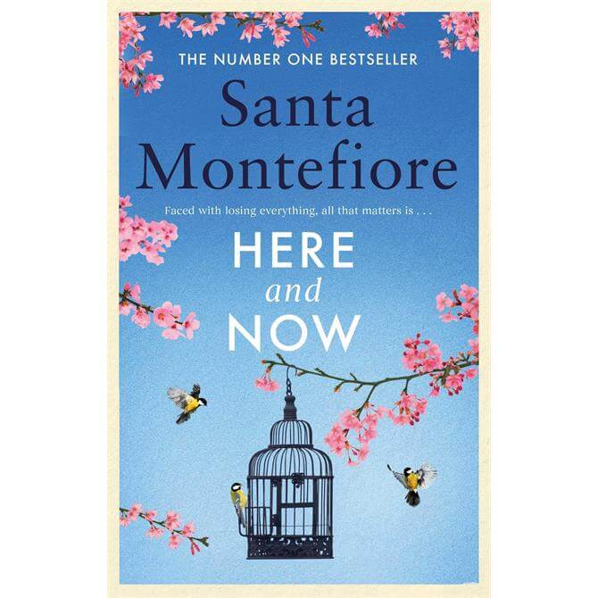 Here and Now By Santa Montefiore (Hardback) Signed