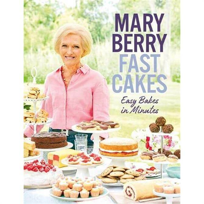 Fast Cakes Easy Bakes in Minutes By Mary Berry (Hardback)