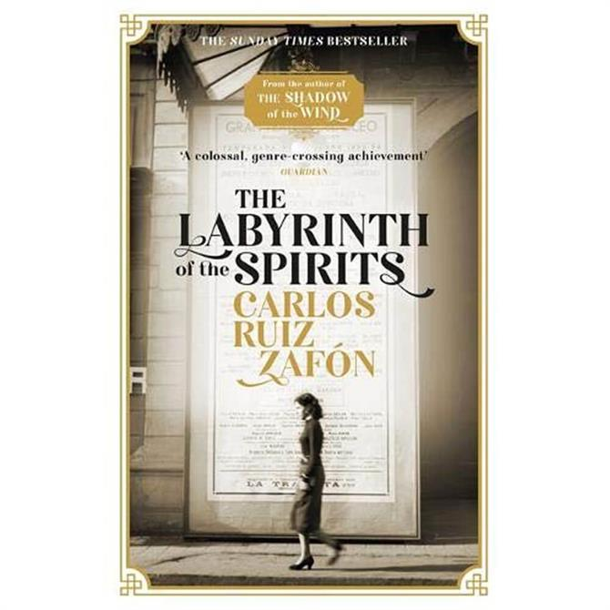 The Labyrinth of the Spirits By Carlos Ruiz Zafon (Paperback)