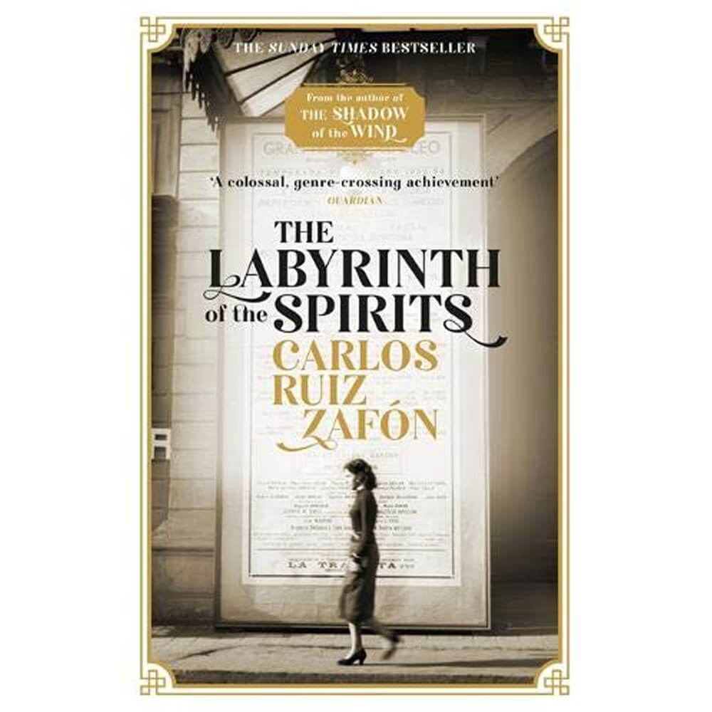 An image of The Labyrinth of the Spirits By Carlos Ruiz Zafon (Paperback)