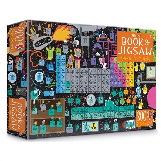Periodic Table Usborne Book and Jigsaw By Sam Smith