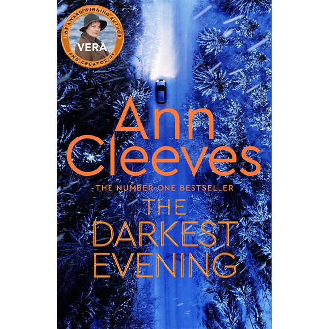 The Darkest Evening By Ann Cleeves (Hardback) Signed