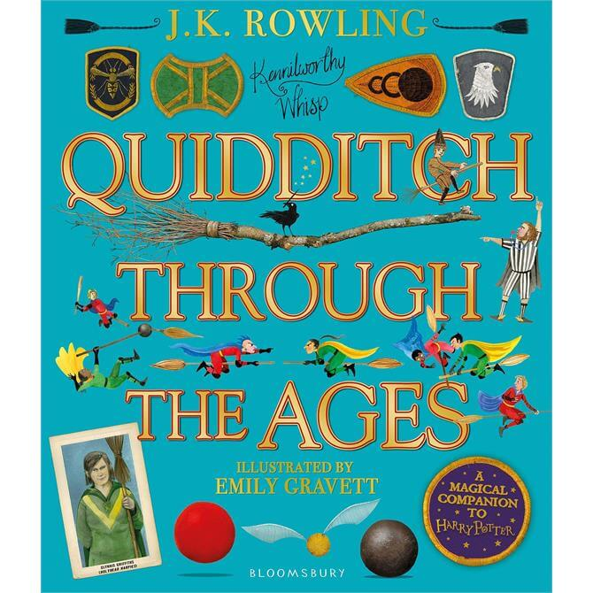 Quidditch Through the Ages By J. K. Rowling (Hardback)