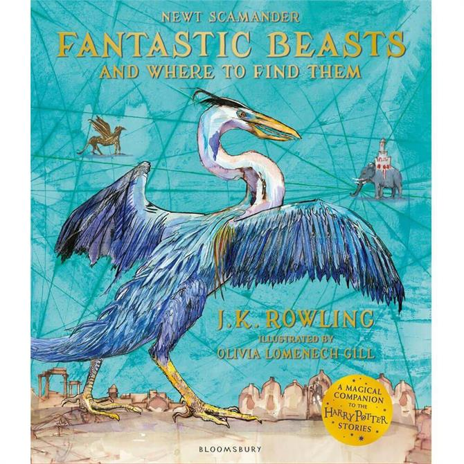 Fantastic Beasts and Where to Find Them: Illustrated Edition By J. K. Rowling (Paperback) - J.K. Rowling