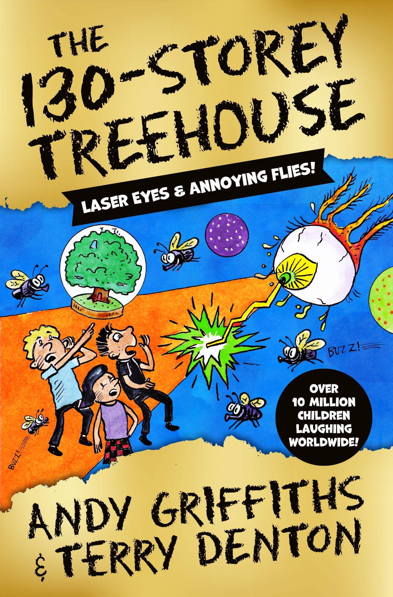 An image of The 130-Storey Treehouse By Andy Griffiths (Hardback)
