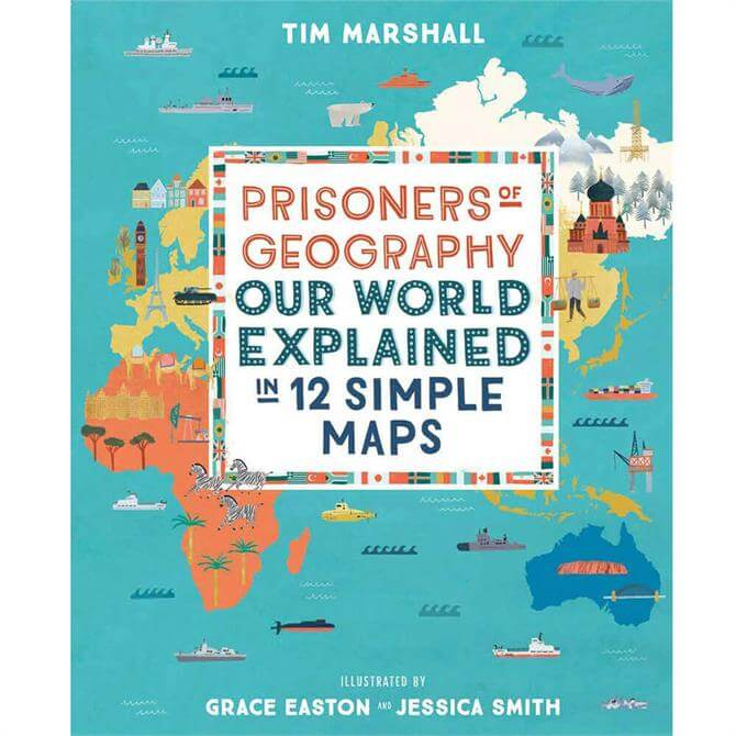 Prisoners of Geography By Tim Marshall (Hardback)