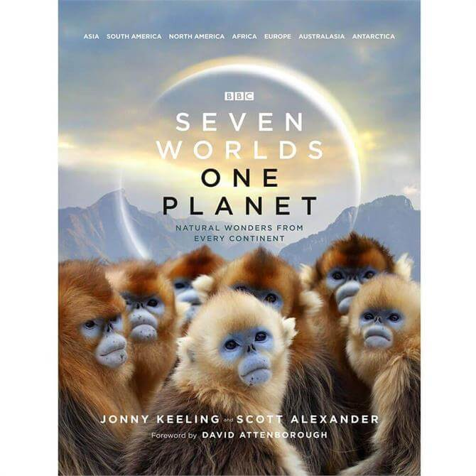 Seven Worlds One Planet By Jonny Keeling (Hardback)