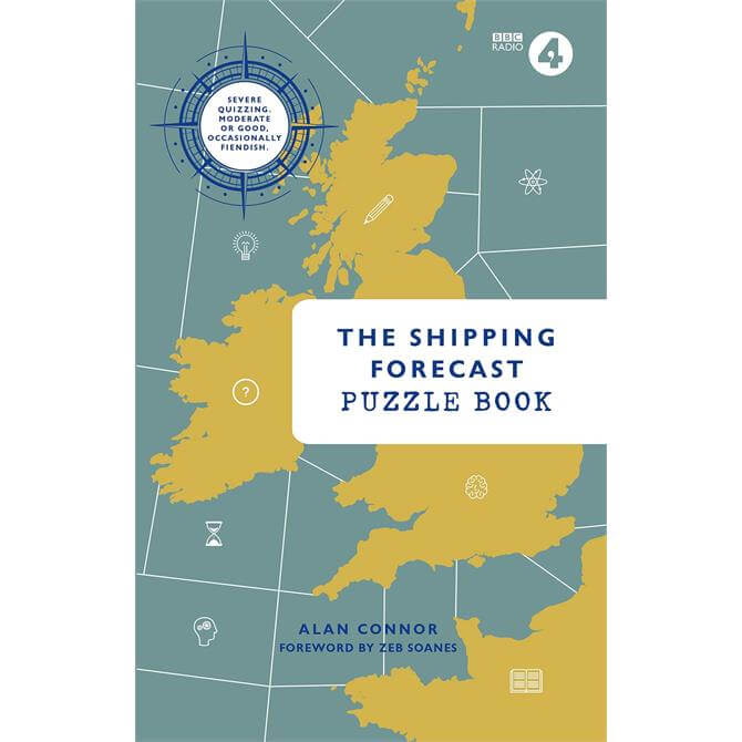 The Shipping Forecast Puzzle Book By Alan Connor (Paperback)