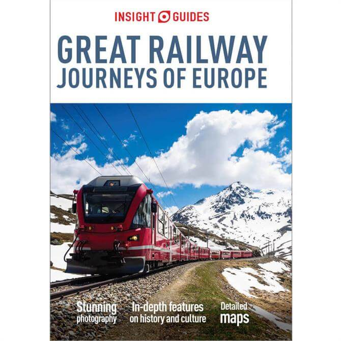 Insight Guides: Great Railway Journeys of Europe (Paperback)
