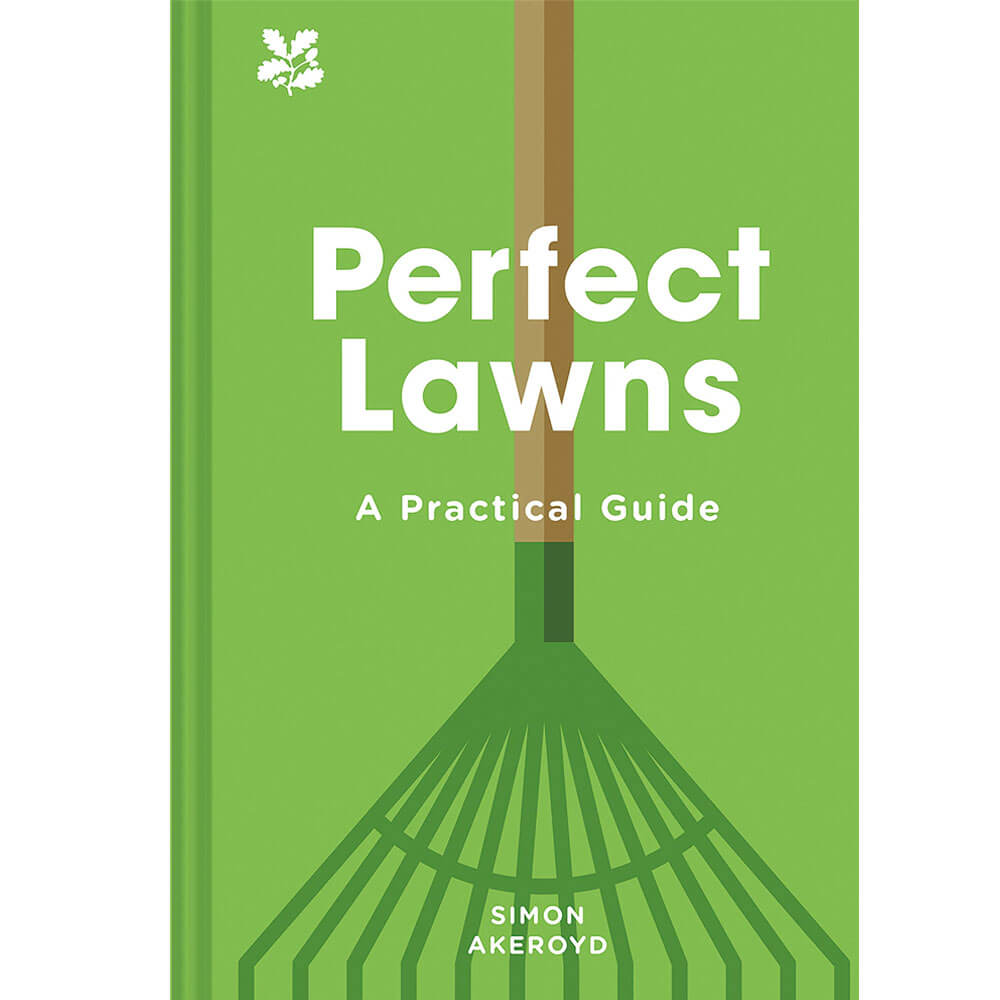 An image of Perfect Lawns By Simon Akeroyd (Hardback)