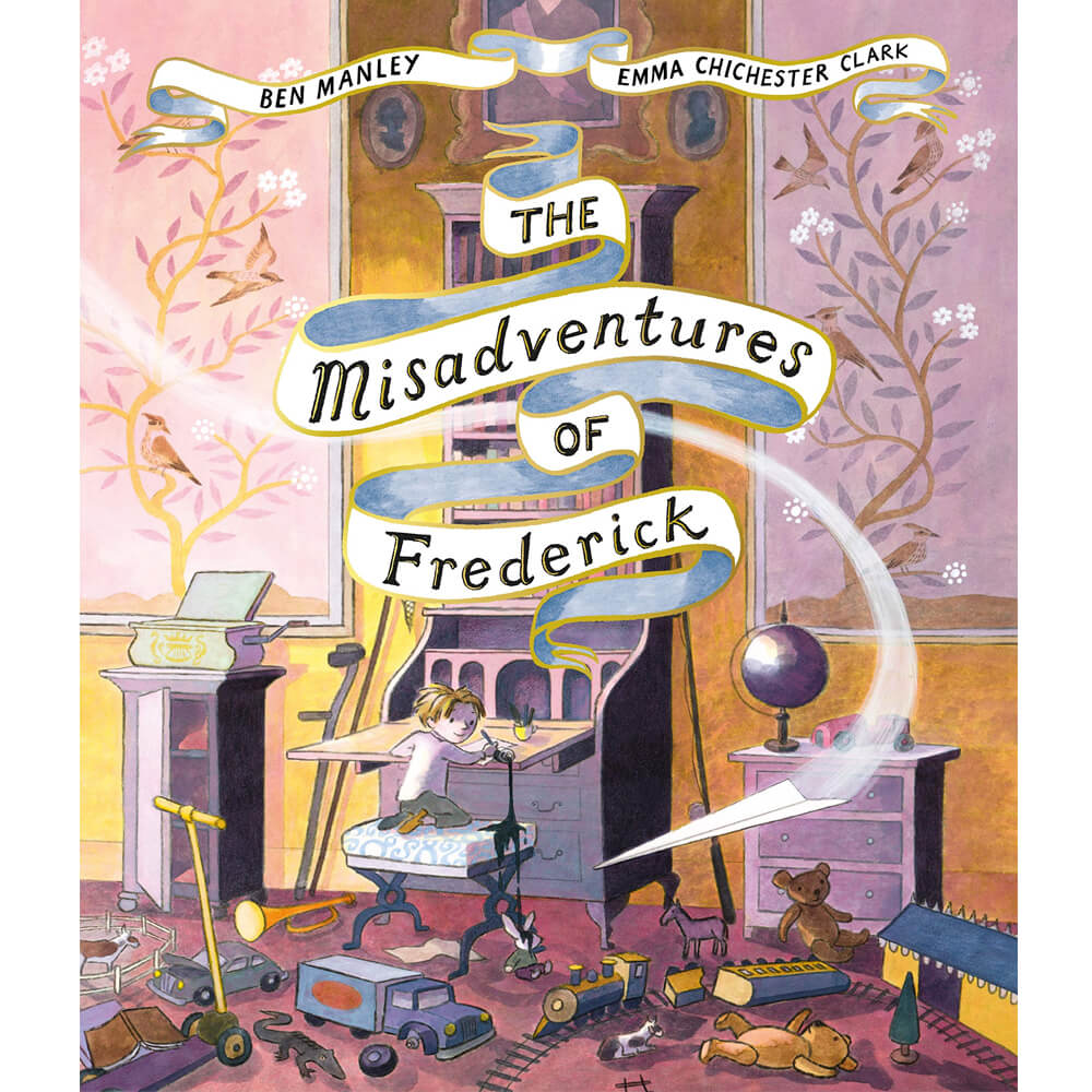 An image of The Misadventures of Frederick By Ben Manley (Paperback)