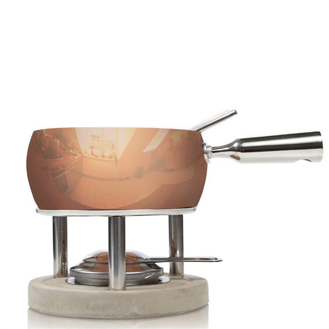 Boska Copper Fondue Set