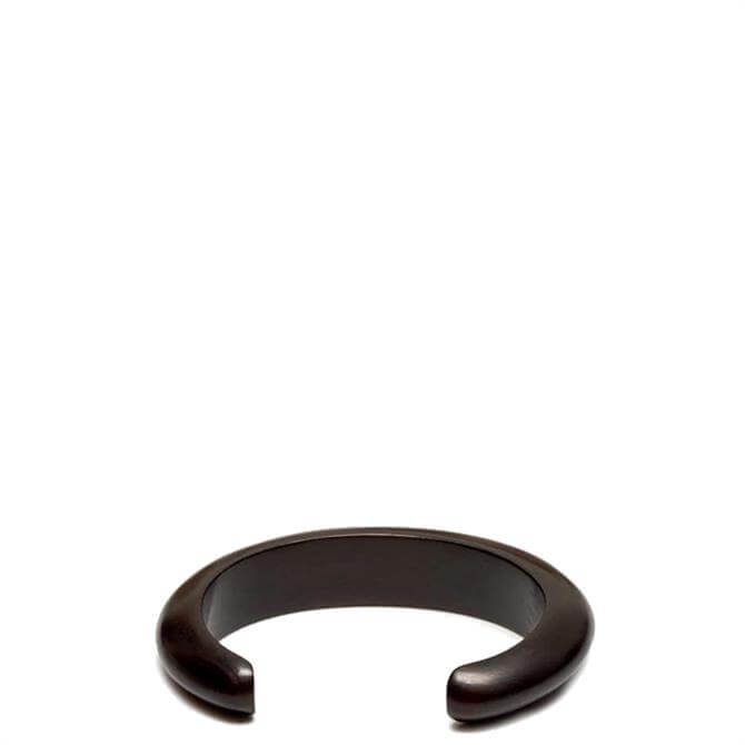 Branch Slim Rounded Wooden Cuff