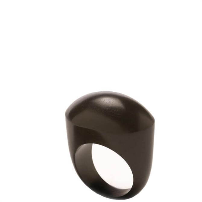 Branch Oval Blackwood Ring