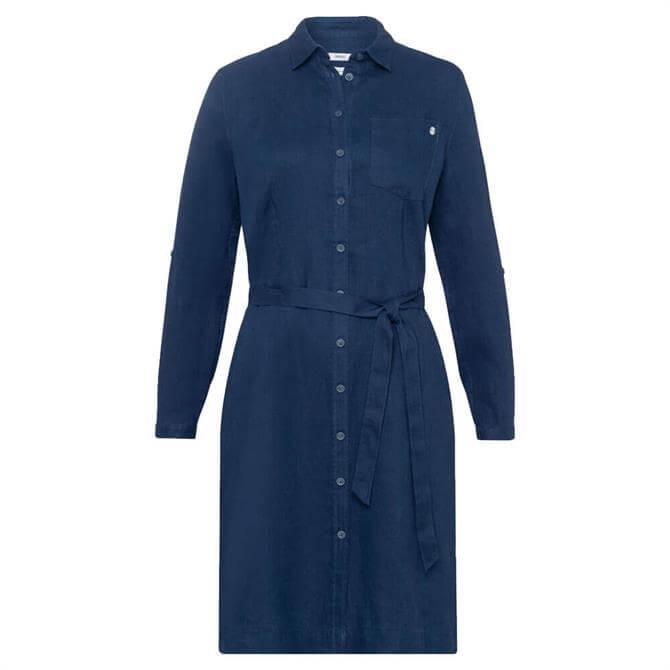 Brax Gillian Classic Linen Shirt Dress