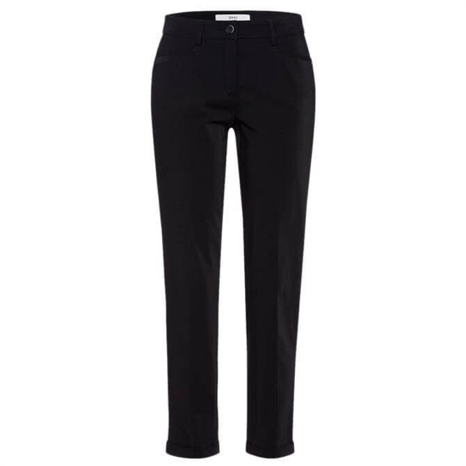 Brax Maron Cropped City Trousers