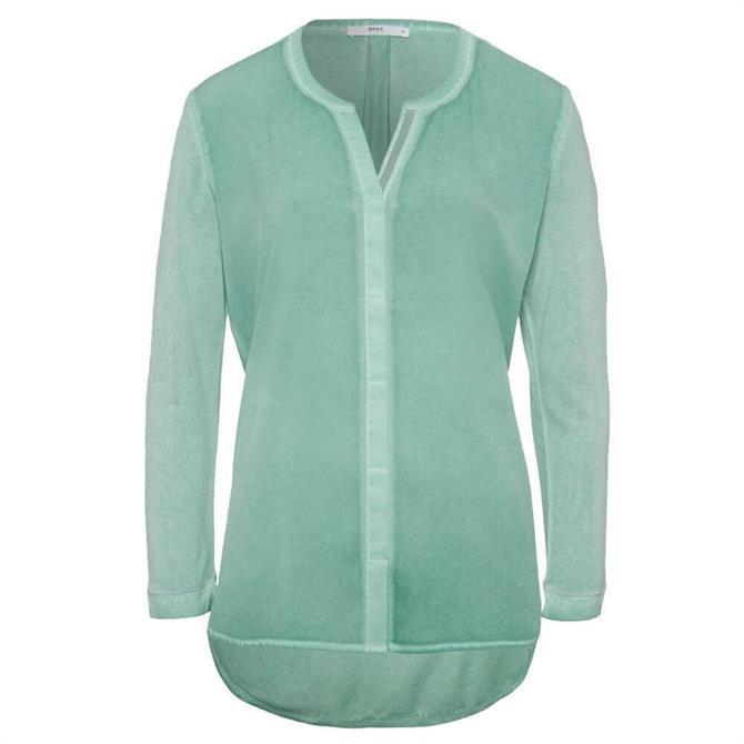Brax Clarissa Vicsose Jersey Shirt Top