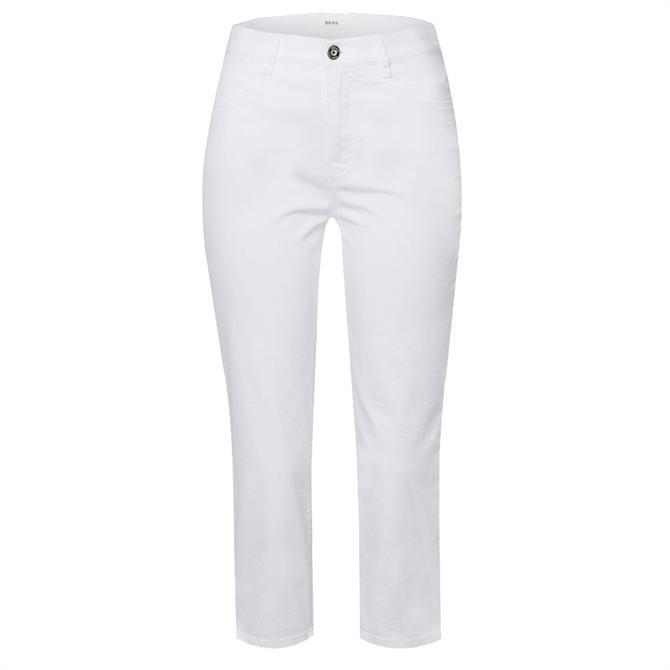 Brax Cropped Lightweight Denim Jeans