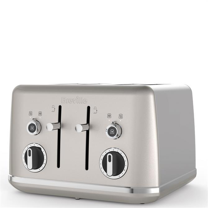 Breville Lustra 4 Slot Cream Toaster