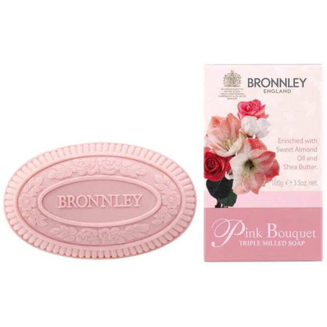 Bronnley Pink Bouquet Triple Milled Soap 100g