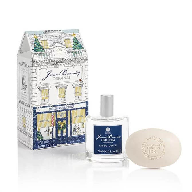 Bronnley James Bronnley Christmas Original Gentlemans Luxury Grooming Gift Set