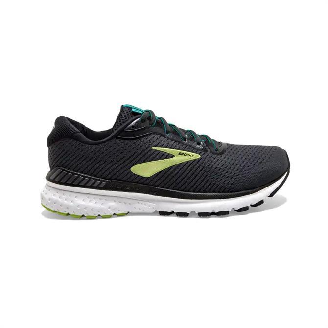 Brooks Adrenaline GTS 20 Men's Running Shoe - Black/Green