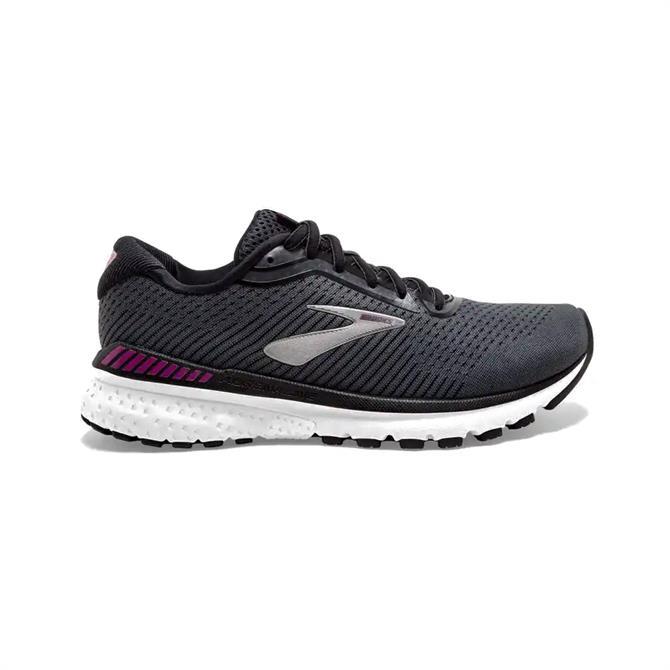 Brooks Adrenaline GTS 20 Women's Running Shoe - Black/White