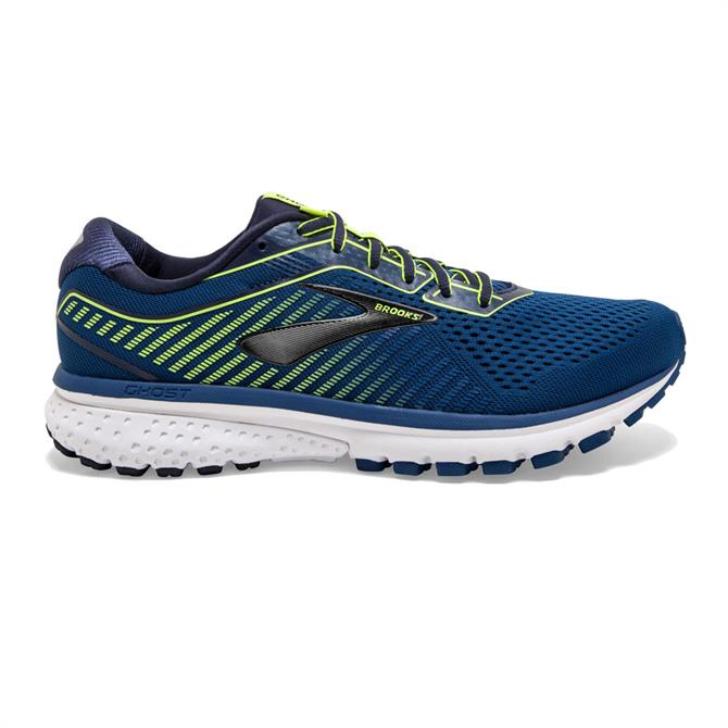 Brooks Mens Ghost 12 Running Shoes Blue Navy