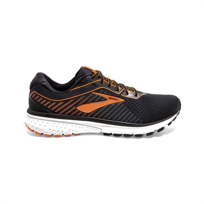 Brooks Ghost 12 Men's Running Shoe - Black/Orange