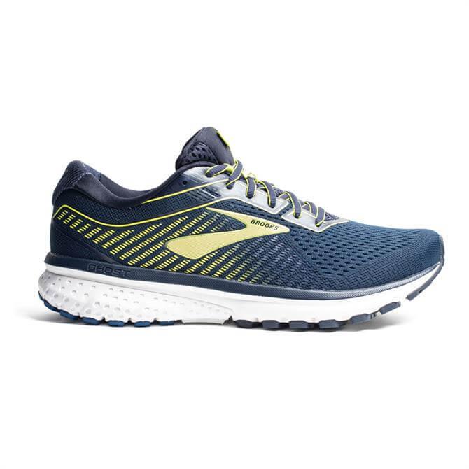 Brooks Mens Ghost 12 Running Shoe Peacoat Blue