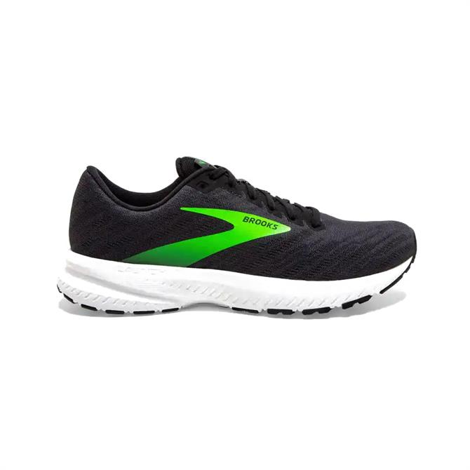 Brooks Launch 7 Men's Running Shoe - Black/Gecko