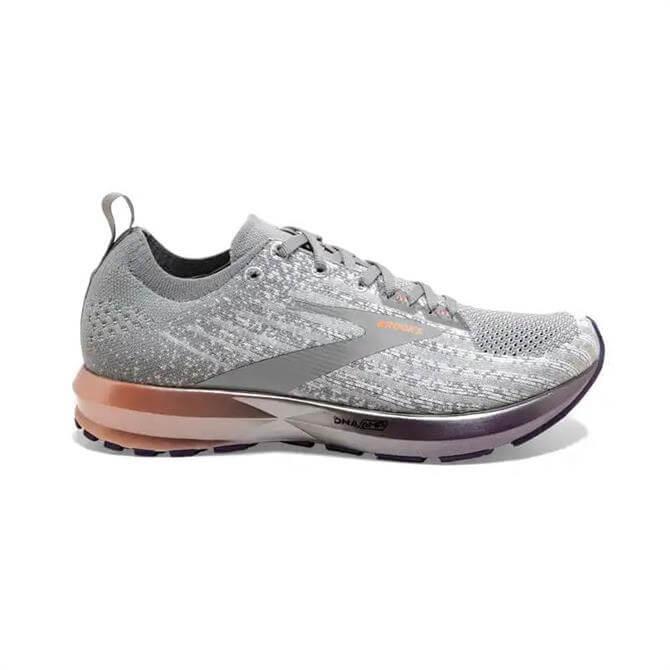Brooks Levitate 3 Women's Running Shoe - White/Purple