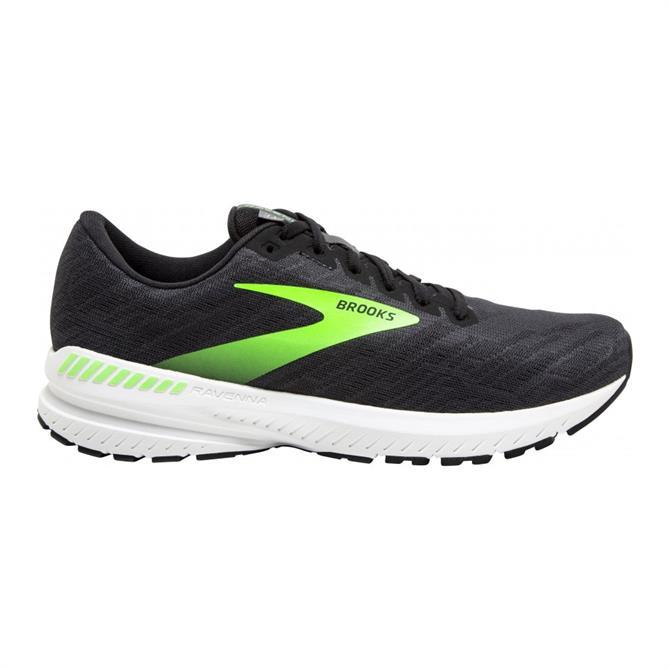 Brooks Ravenna 11 Men's Running Shoe - Black/Gecko