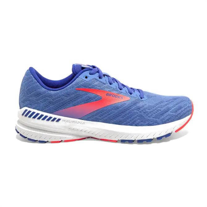 Brooks Ravenna 11 Women's Running Shoe - Blue/Coral