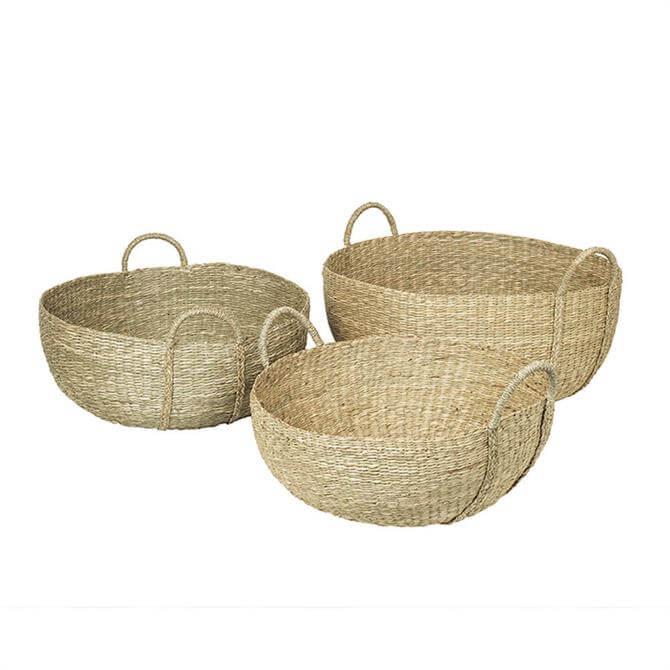 Broste Astrid Baskets Sea Grass