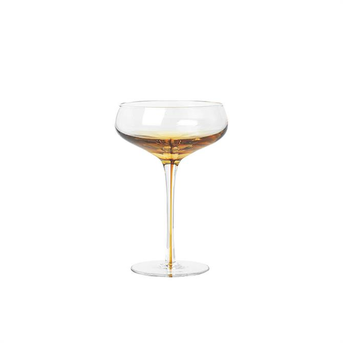 Broste Cocktail Glass Amber