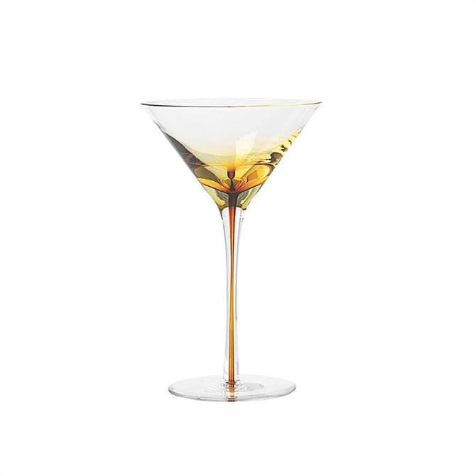 Broste Martini Glass Amber