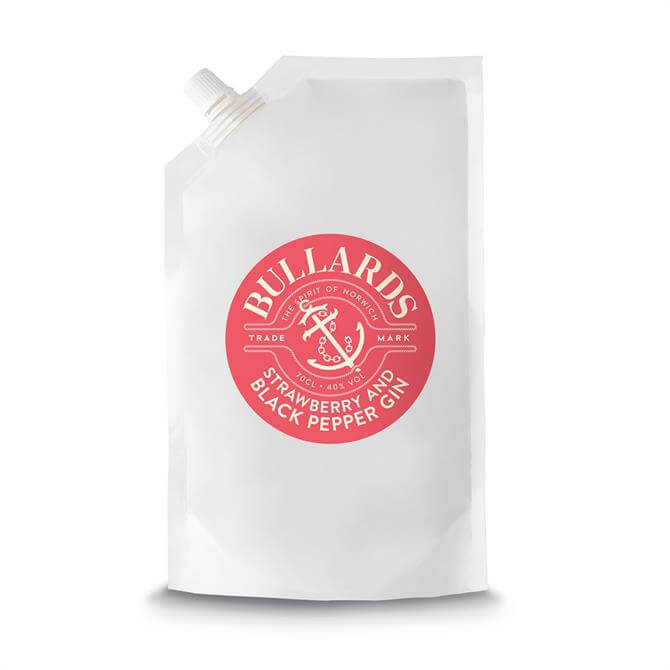 Bullards Refill Pouch Strawberry Black Pepper Gin 70cl