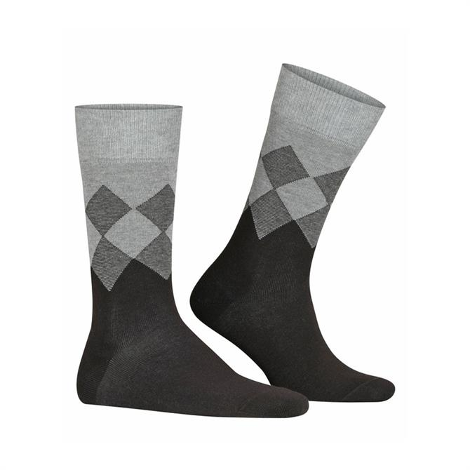 Burlington Hampstead Argyle Pattern Socks