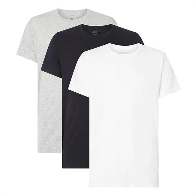 Calvin Klein 3 Pack Cotton Classic T-Shirts