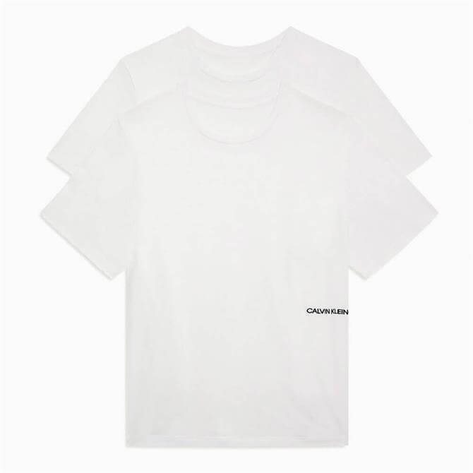 Calvin Klein 2 Pack Lounge White T-Shirts