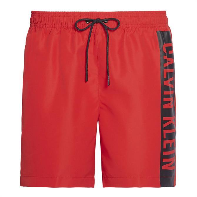 Calvin Klein Intense Power Block Logo Swim Shorts